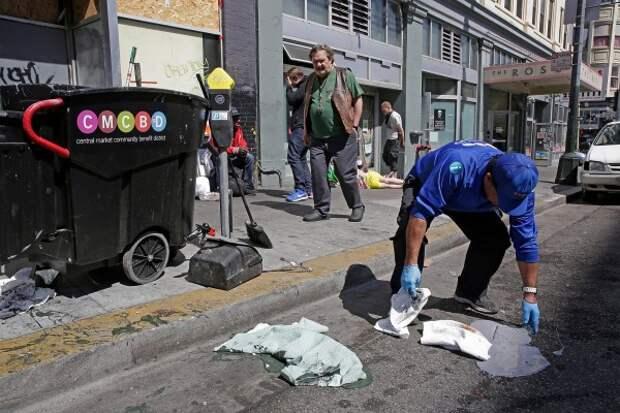 Евросчастье. В Лондоне, наконец, запретили испражняться на улицах