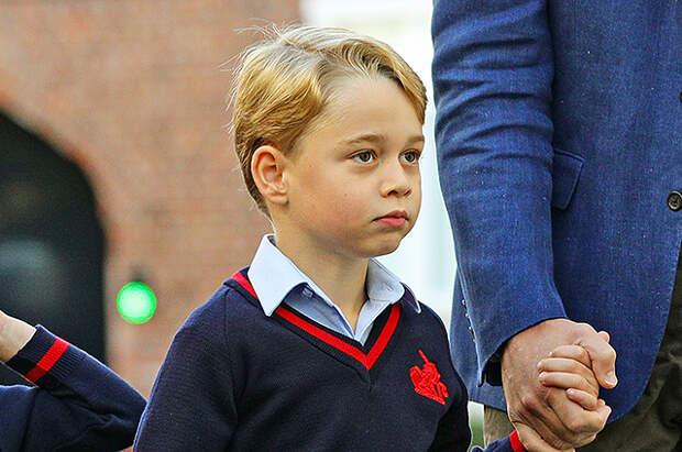"""Крестная мать принца Джорджа рассказала о нем: """"Он забавный, смелый и дерзкий"""""""