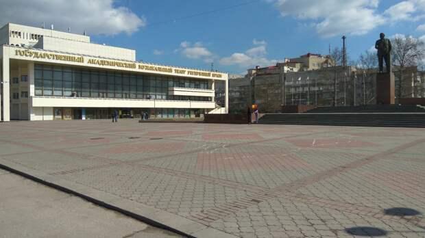 Благоустройство площади Ленина в Симферополе проведет фирма с материка