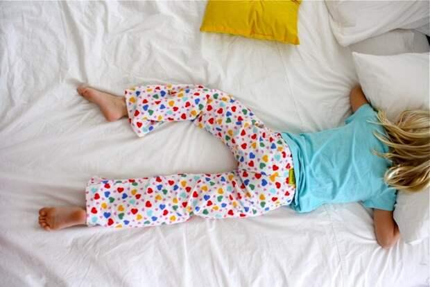 Нет, не фантастика, а всего лишь детская пижама!