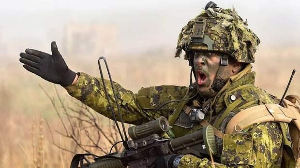 Учения НАТО в Литве.