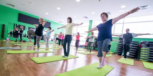 Оздоровительные занятия для пенсионеров из Южного Медведкова пройдут в онлайн-формате