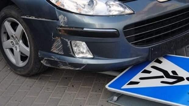 В Череповце водитель снес пожилого пешехода