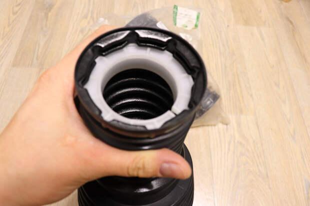 Доработка пыльников пневмоподвески от Range Rover Salga с помощью 3D печати. Установка на Land Rover Discovery III своими руками