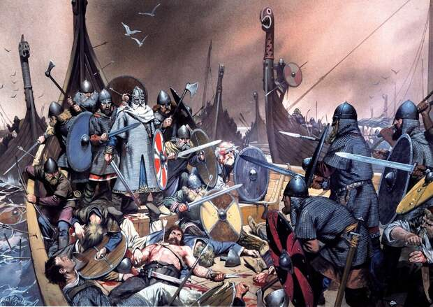 Олаф Трюггенсон, самый популярный герой саг (Иллюстрация из открытых источников)