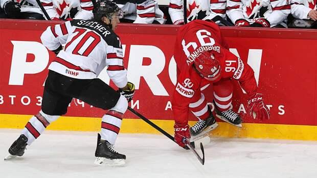 Сборная России в овертайме уступила Канаде в четвертьфинале ЧМ