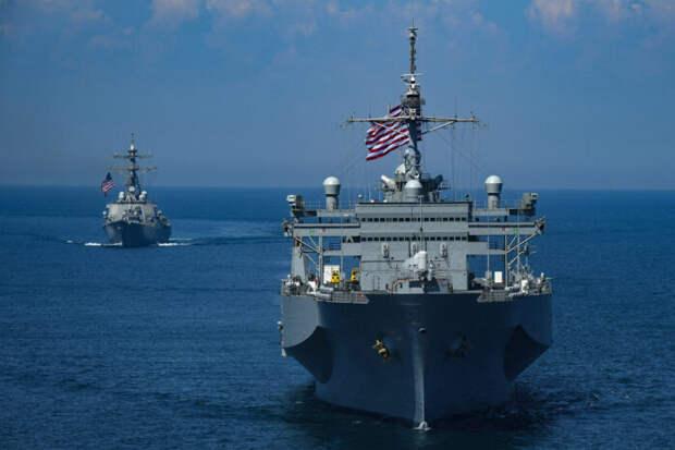 В США допустили атаку на корабли ВМФ РФ в Черном море