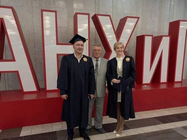 Депутат Госдумы Белик в 50 лет обзавелся степенью магистра
