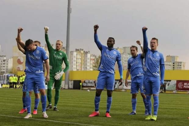 Брестское «Динамо» принимает «Сморгонь» в матче 13 тура Высшей Лиги Белоруссии