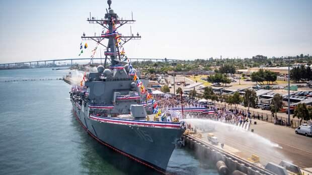 В Балтфлоте заявили о присутствии эсминцев ВМС США в Северном и Балтийском морях