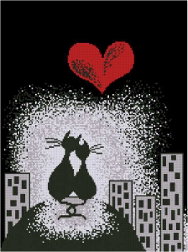 Влюблённые коты