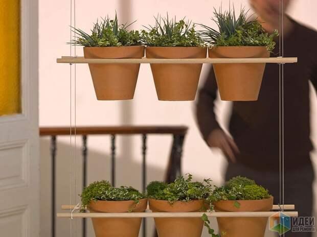 Подвесной держатель для цветочных горшков, Compagnie