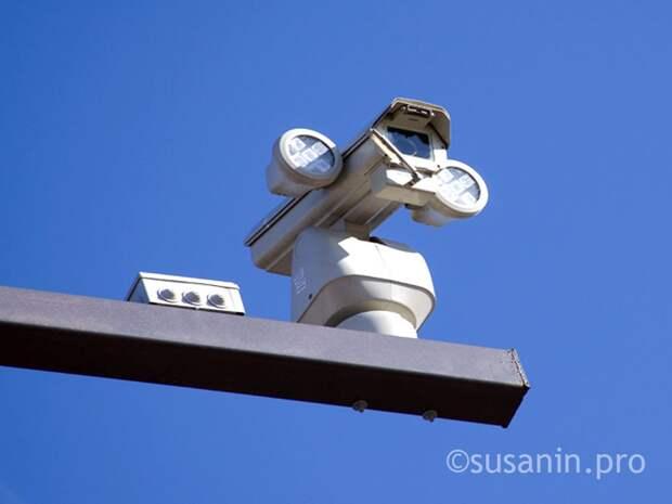 ГИБДД России публиковала карту со всеми камерами на дорогах