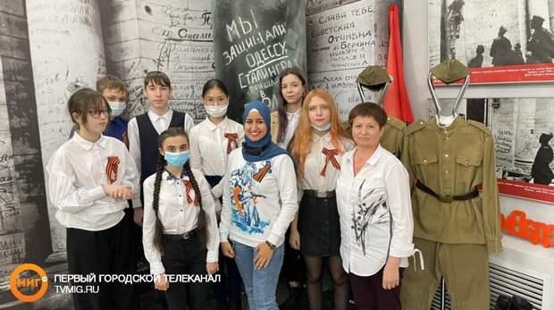 В Ноябрьск приехала волонтёр Победы из Египта