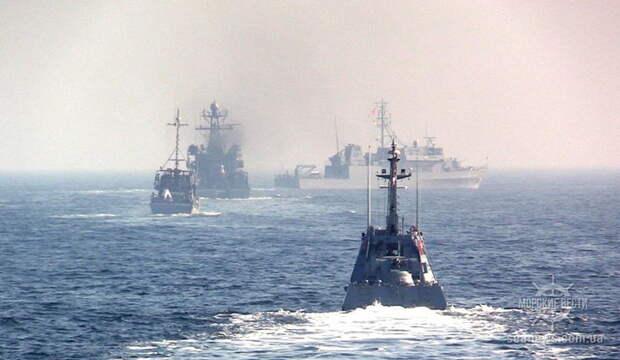 В Чёрном море начались масштабные учения Украины и НАТО Sea Breeze