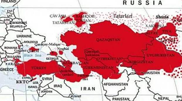 Турки – всего лишь пушечное мясо! Запад планирует большую бойню вплоть до афганской границы