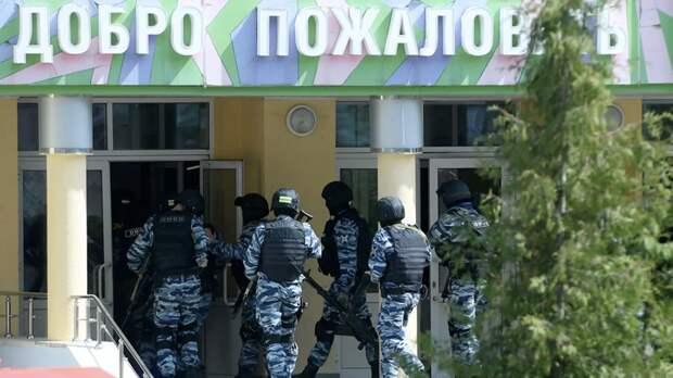 Задержанный после стрельбы в Казани владел зарегистрированным оружием