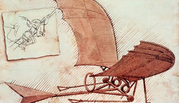 10 революционных идей Леонардо даВинчи
