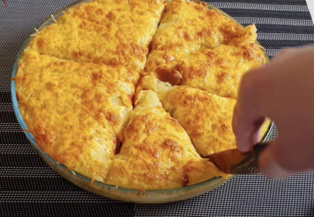 Вместо жарки картошку готовим как пирог