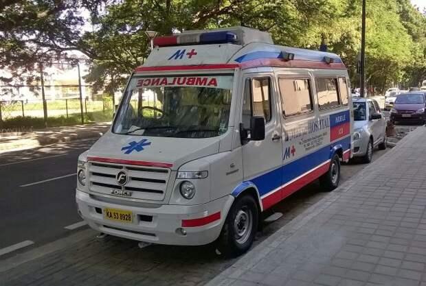 В Индии в коронавирусной больнице произошел пожар
