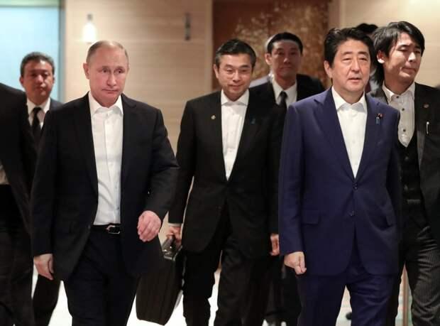 В рамках визита Путина в Японию было подписано 68 документов