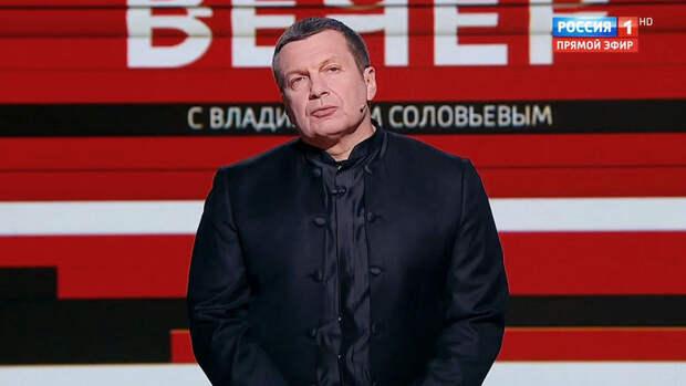 Соловьев посоветовал Зеленскому говорить напрямую с главами ДНР и ЛНР