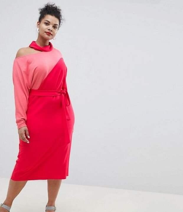 Модные платья для полных на это лето