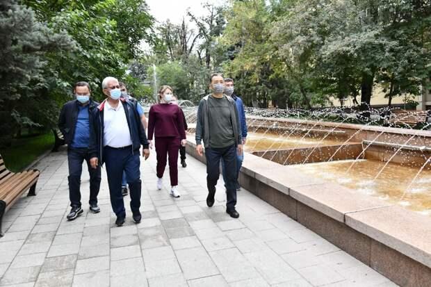 Фонтан «Неделька» восстановили в Алматы