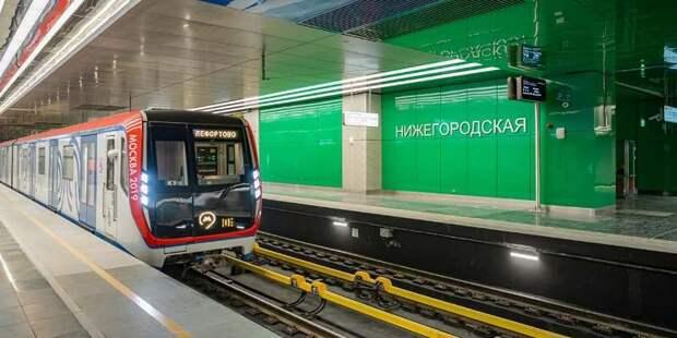 Пассажиропоток на новых станциях Некрасовской линии доказал востребованность ветки