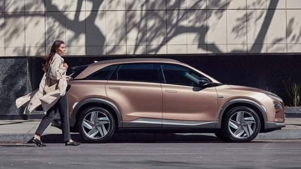 Водородная Hyundai Nexo установила мировой рекорд по дальности поездки