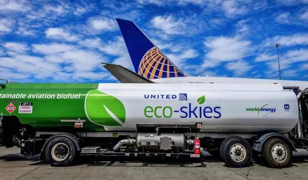 Совместно производить «зеленое» авиатопливо договорились «Аэрофлот» и«Газпром нефть»