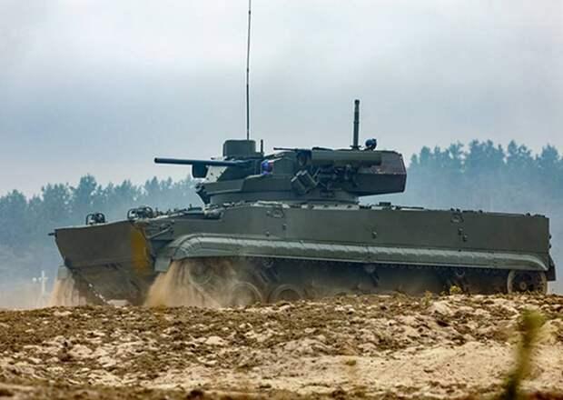 Новую БМП Б-19 с модулем «Эпоха» впервые показали на стратегических учениях «Запад-2021»