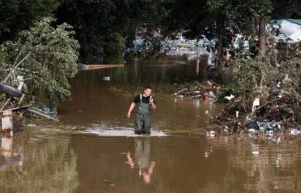 Сильное наводнение пошатнуло веру в миф об устройстве немецкого общества и государства