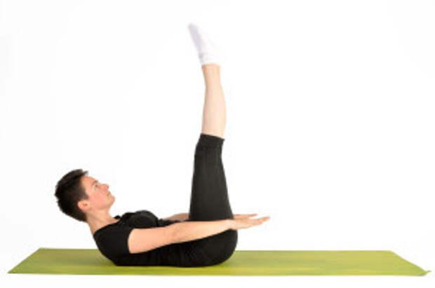 Золотое упражнение Пилатеса Сотня для всех мышц брюшной полости