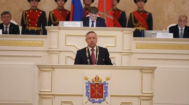Александр Беглов стал 73-м губернатором Петербурга