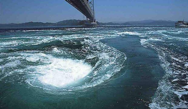 Воронка в бездну: 9 огромных водоворотов океана