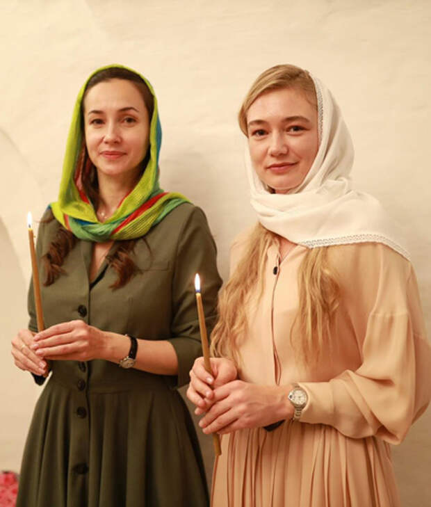Ольга Филиппова и Оксана Акиньшина