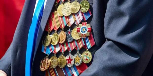 Собянин: Строгий домашний режим не помешает поздравить ветеранов с 9 Мая/ Фото mos.ru