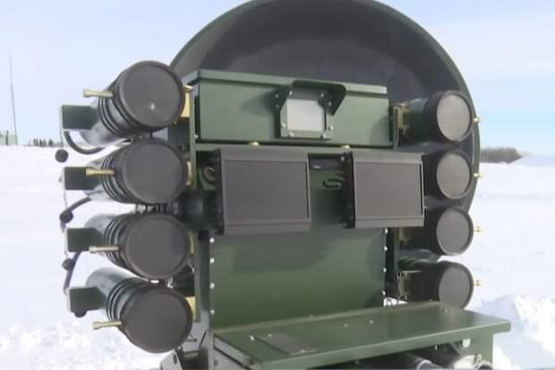 Боевой робот РВСН впервые показали на видео