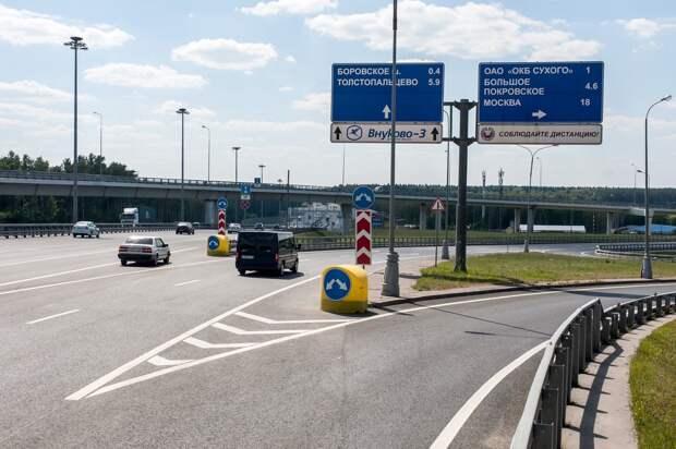 Участок Киевского шоссе освободили для машин после аварии