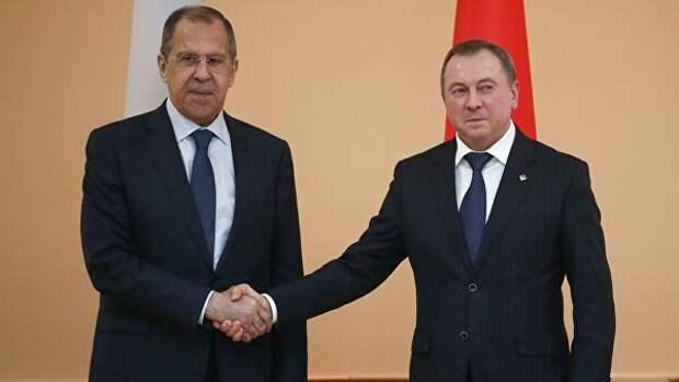 Главы МИД России иБелоруссии обсудили интеграцию двух стран