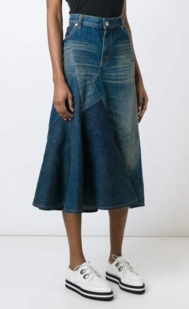 Джинсовые юбки от Junya Watanabe