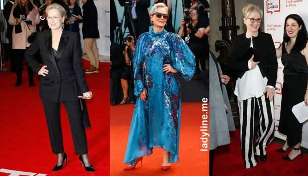 Секреты стиля для дам 50+ от ценительницы моды — Мэрил Стрип