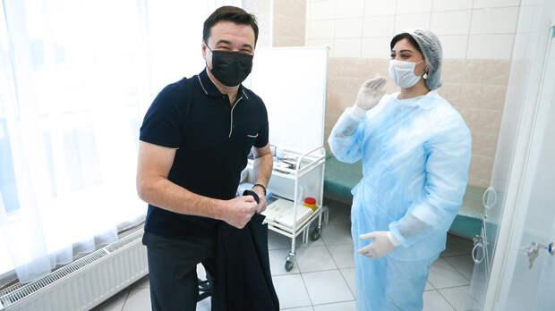 Андрею Воробьеву сделали второй укол вакцины против коронавируса