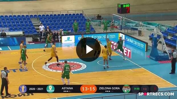 Astana vs. Enea Zastal Zielona Gora Condensed Game April, 22 | Season 2020-21