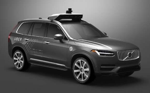 Образовался еще один беспилотный альянс – Volvo и Uber