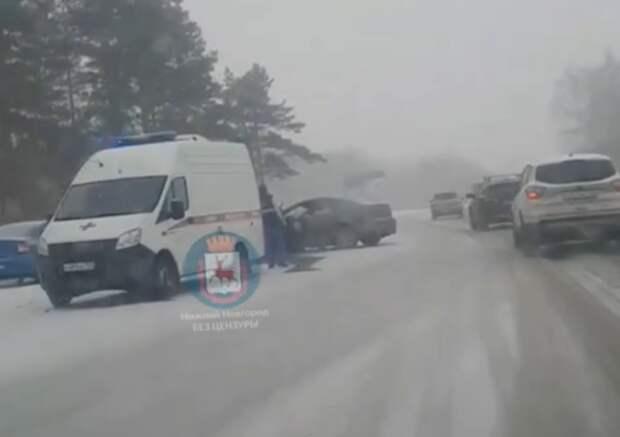 Двое пострадавших в ДТП у поселка Доскино скончались по дороге в больницу