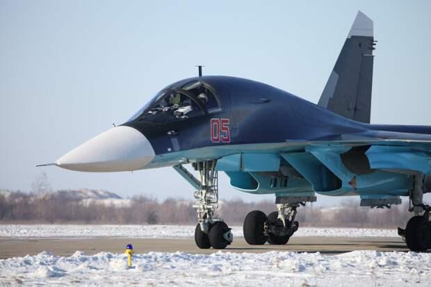 Российские СУ-34 доказали свою надёжность