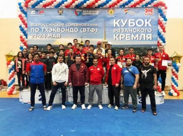 Тхэквондисты КБР успешно выступили на «Кубке Рязанского Кремля»