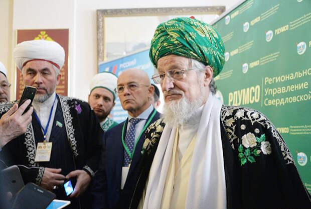 Верховный муфтий России высказался о карикатурах на пророка Мухаммеда